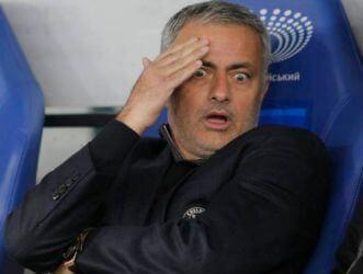 Manager Mourinho Sacked